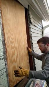 Plywood insert 2